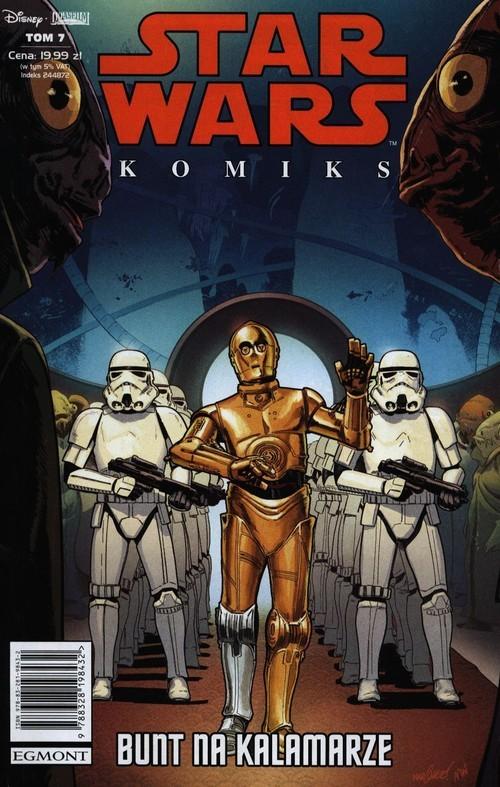 okładka Star Wars Komiks 7 Bunt na Kalamarzeksiążka     