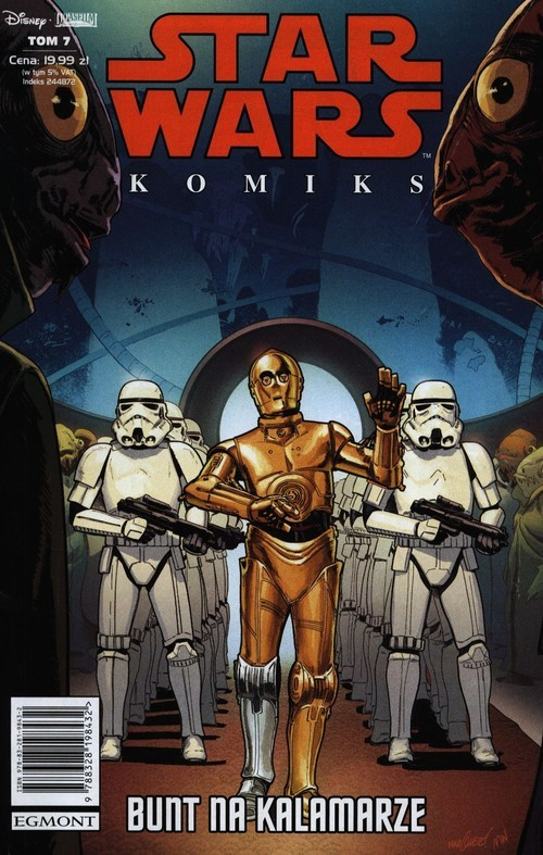 okładka Star Wars Komiks 7 Bunt na Kalamarze, Książka  