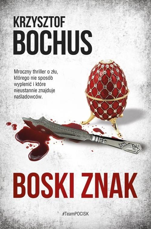 okładka Boski znak, Książka | Krzysztof Bochus