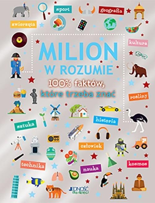 okładka Milion w rozumie 100% faktów, które trzeba znać, Książka | Martens Saskia
