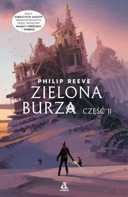 okładka Zielona burza Cz.2, Książka | Reeve Philip