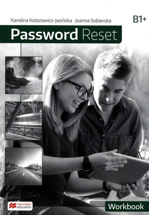 okładka Password Reset B1 Workbook, Książka | Karolina Kotorowicz-Jasińska, Joanna Sobierska