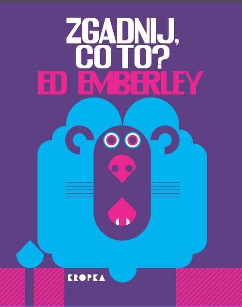 okładka Zgadnij co to?książka      Emberley Ed