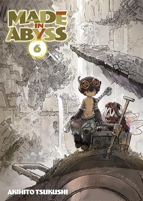 okładka Made in Abyss #06książka      Tsukushi Akihito