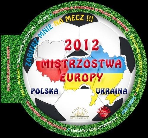 okładka 2012 Mistrzostwa Europy wersja L Polska i Ukraina, Książka |