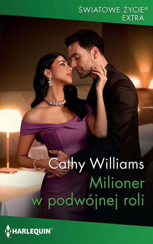 okładka Milioner w podwójnej roli /Światowe Życie Ekstraksiążka |  | Cathy Williams