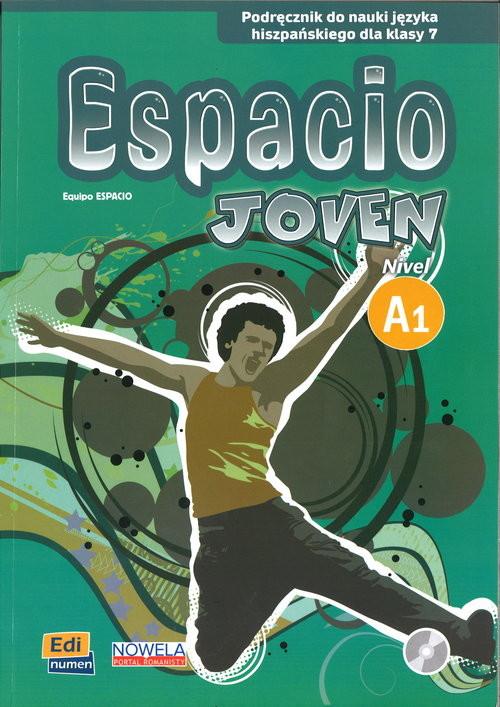 okładka Espacio Joven 1 7 Podręcznik + CD, Książka | Mar Menendez