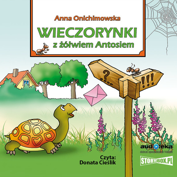 okładka Wieczorynki z żółwiem Antosiemaudiobook   MP3   Anna Onichimowska