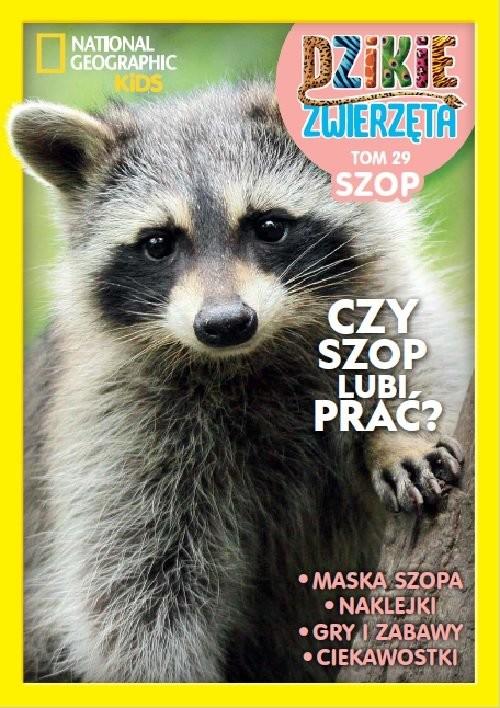 okładka Dzikie Zwierzęta Tom 29 Szopksiążka     