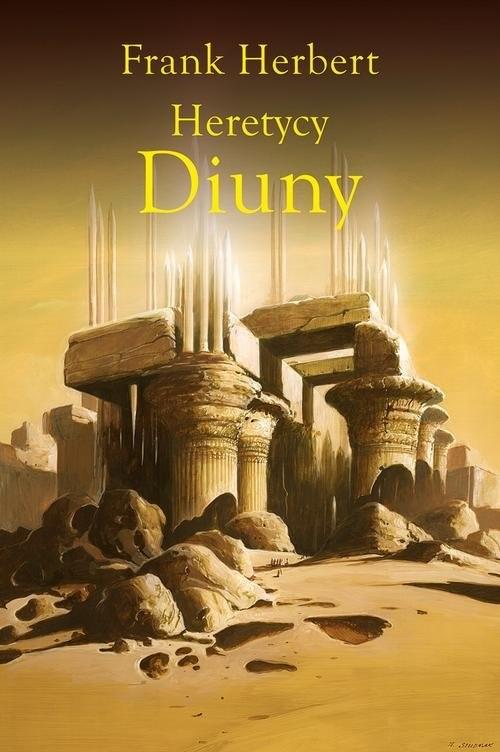 okładka Heretycy Diuny, Książka | Frank Herbert, Wojciech Siudmak
