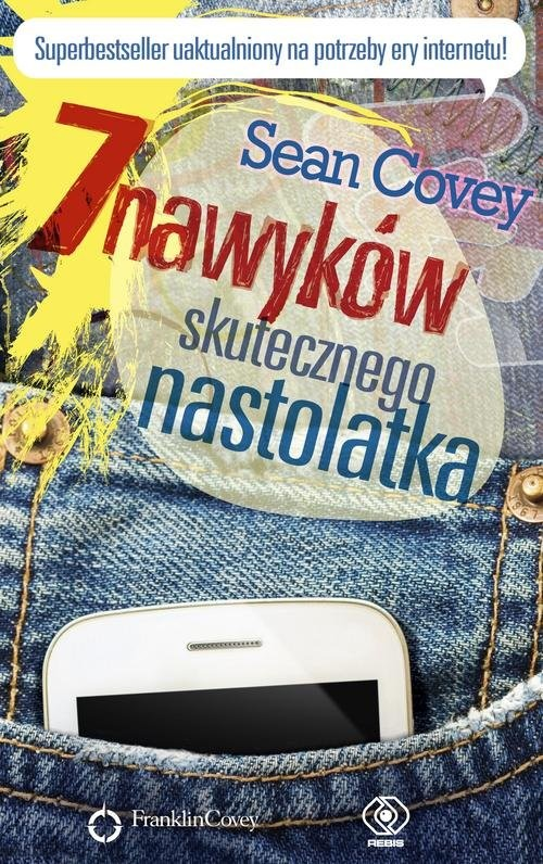 okładka 7 nawyków skutecznego nastolatka, Książka | Covey Sean