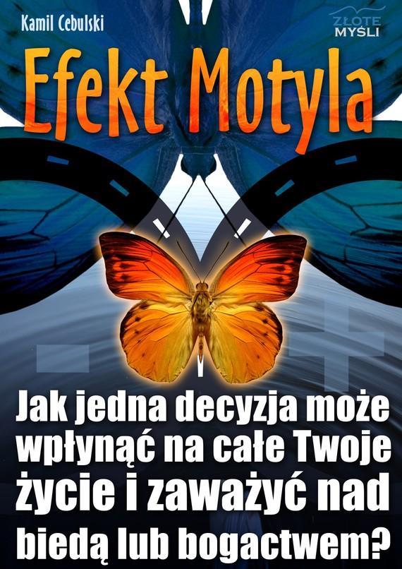 okładka Efekt Motyla, Audiobook   Kamil  Cebulski
