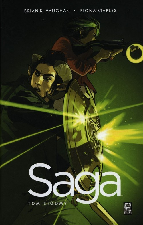 okładka Saga Tom 7książka |  | Brian K. Vaughan