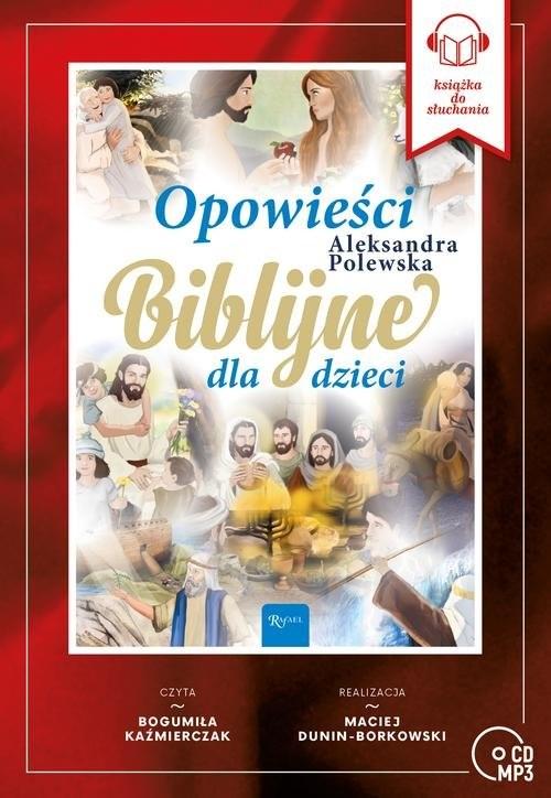 okładka Opowieści Biblijne dla dzieci, Książka   Polewska Alekasandra