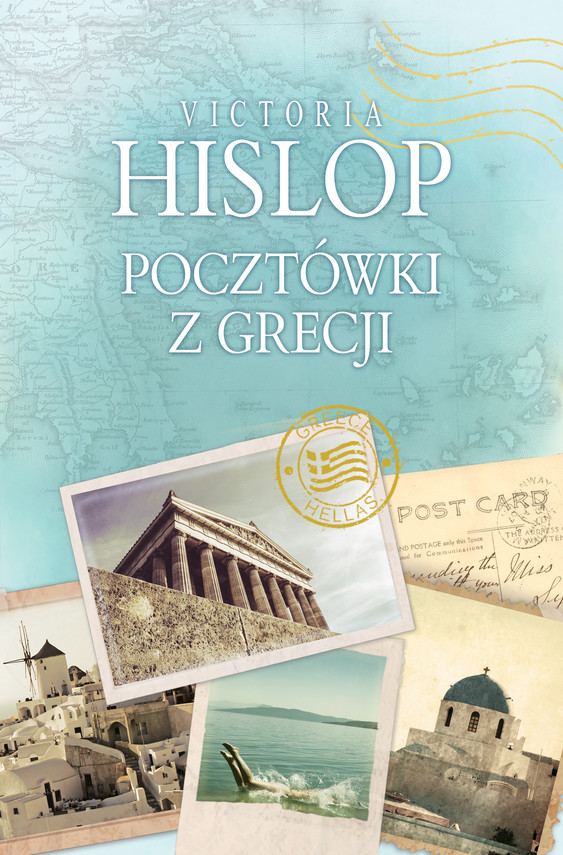 okładka Pocztówki z Grecjiebook | epub, mobi | Victoria Hislop