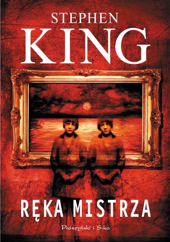 okładka Ręka mistrza, Ebook   Stephen King