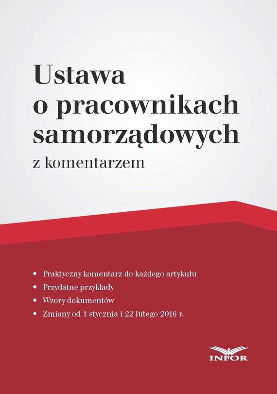 okładka Ustawa o pracownikach samorządowych – komentarzebook | pdf | Magdalena Kasprzak