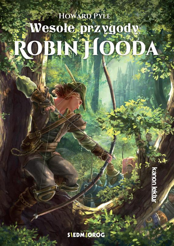 okładka Wesołe przygody Robin Hoodaebook | epub, mobi | Pyle Howard