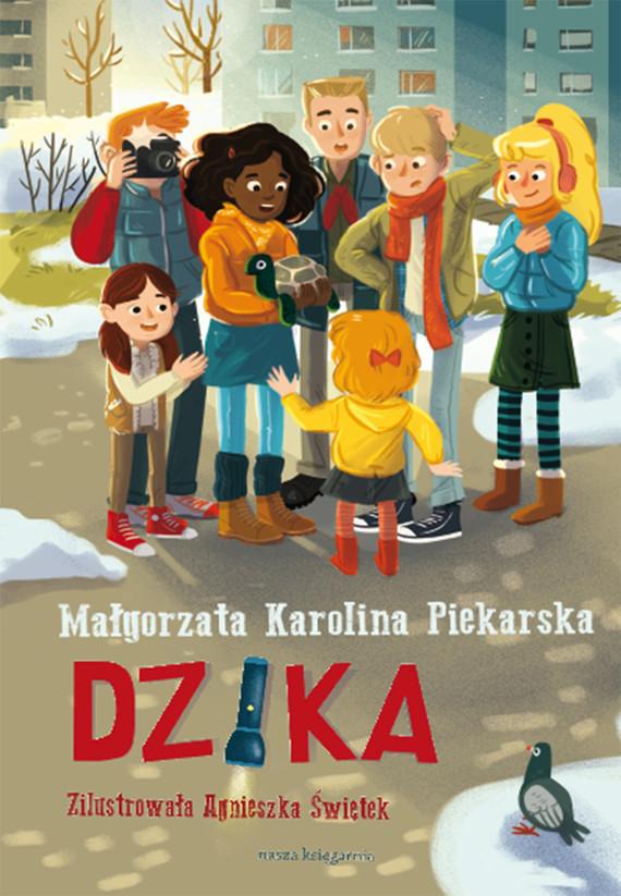 okładka Dzika, Ebook   Małgorzata Karolina Piekarska