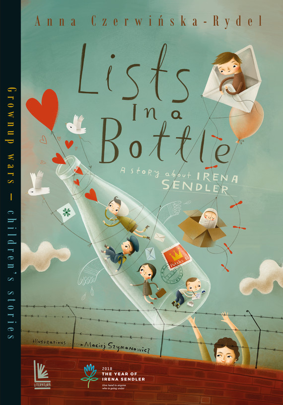 okładka Listy w butelce. opowieść o Irenie Sendlerowejebook | epub, mobi | Czerwińska-Rydel Anna