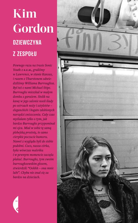 okładka Dziewczyna z zespołuebook | epub, mobi | Kim Gordon