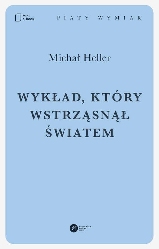 okładka Wykład, który wstrząsnął światemebook | epub, mobi | Michał Heller