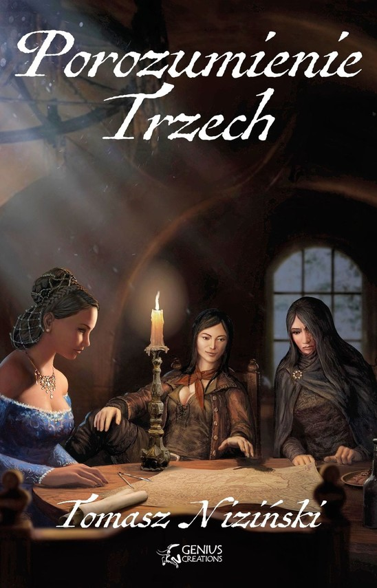 okładka Porozumienie Trzech, Ebook | Tomasz Niziński