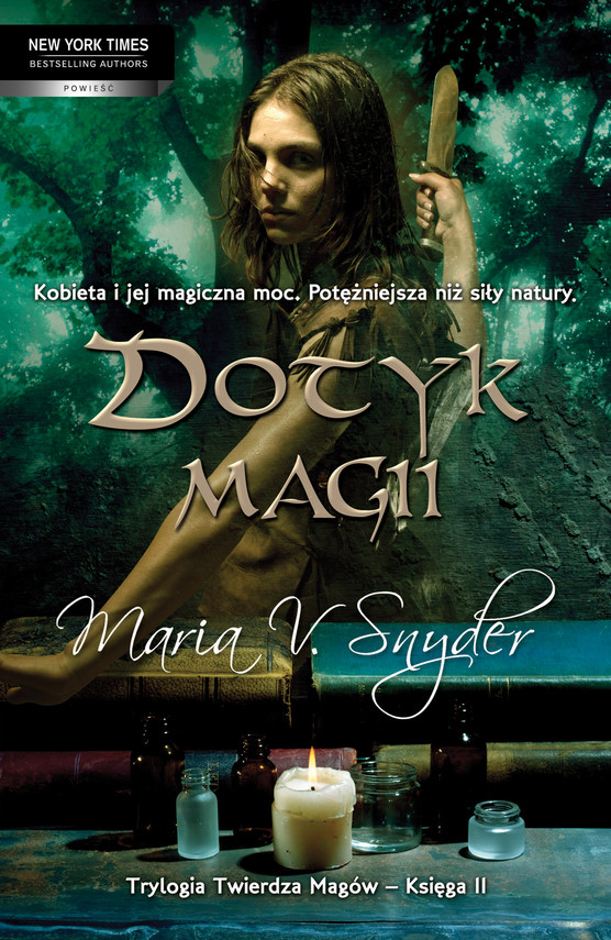 okładka Dotyk magiiebook | epub, mobi | Maria V. Snyder