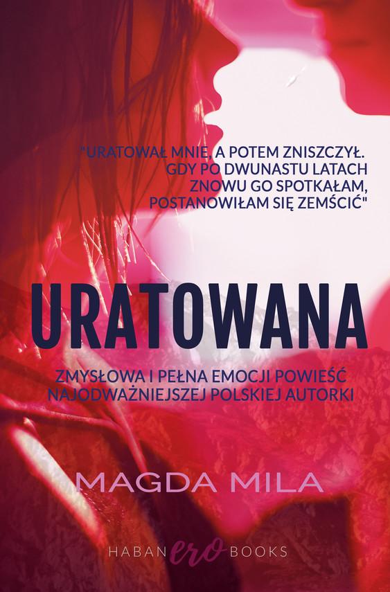 okładka Uratowana, Ebook | Magda Mila