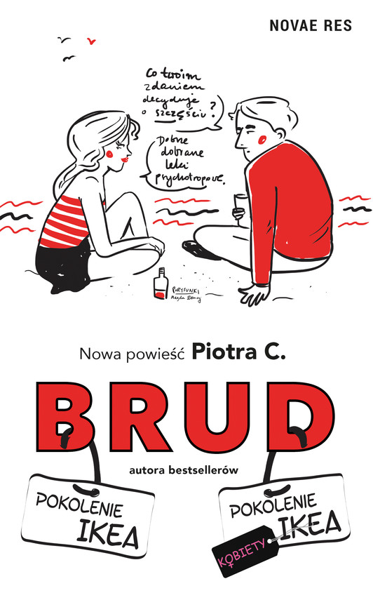 okładka Brudebook | epub, mobi | Piotr C