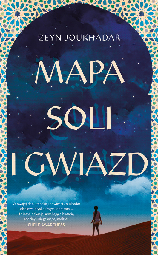 okładka Mapa soli i gwiazdebook | epub, mobi | Zeyn Joukhadar