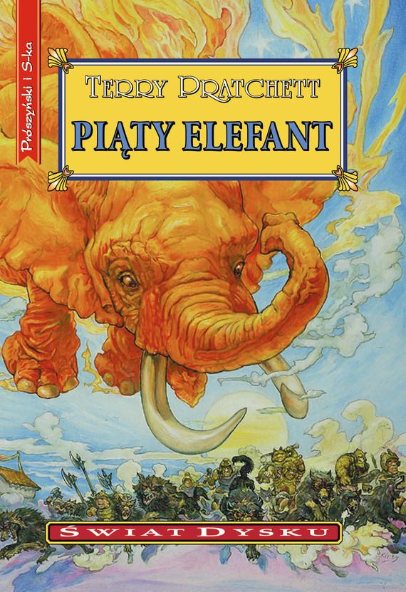okładka Piąty elefant, Ebook | Terry Pratchett