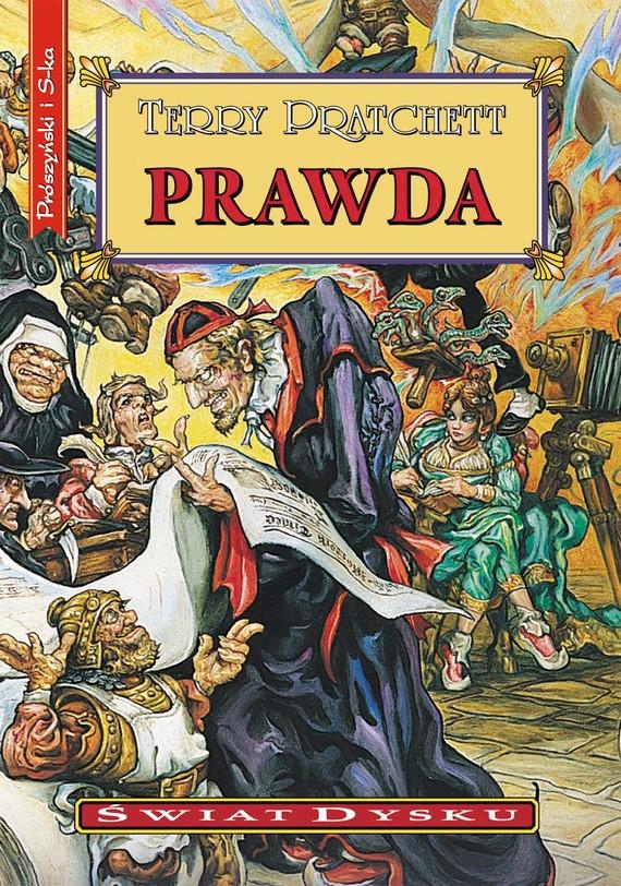 okładka PRAWDAebook   epub, mobi   Terry Pratchett