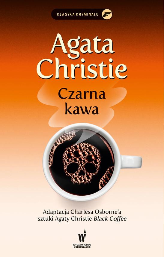 okładka Czarna kawaebook | epub, mobi | Agata Christie