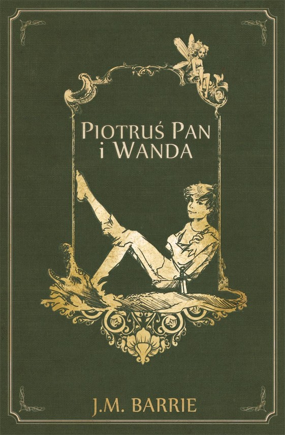 okładka Piotruś Pan i Wanda, Ebook   James Matthew Barrie