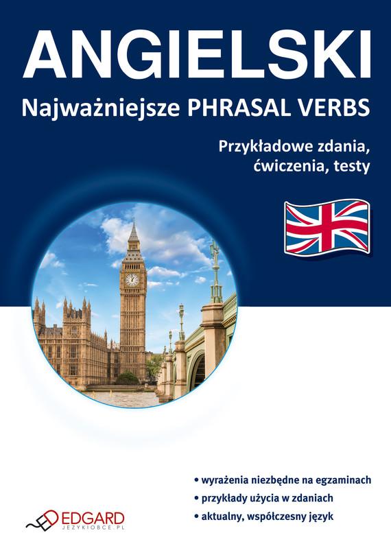 okładka Angielski Najważniejsze phrasal verbs, Ebook  