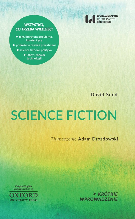 okładka Science fictionebook | epub, mobi | David Seed