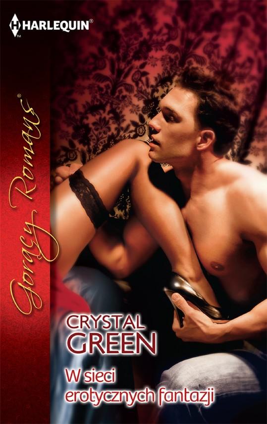 okładka W sieci erotycznych fantazjiebook | epub, mobi | Crystal Green