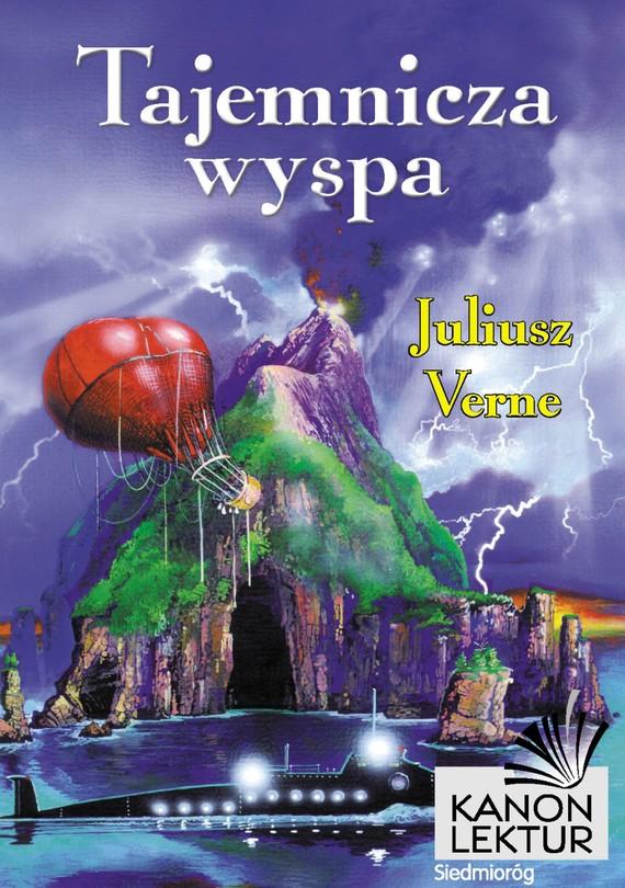 okładka Tajemnicza wyspa, Ebook | Juliusz Verne