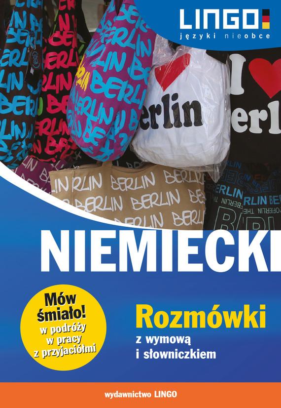 okładka Niemiecki. Rozmówki z wymową i słowniczkiem. eBook, Ebook | Piotr Dominik
