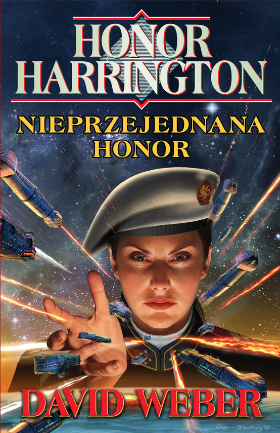 okładka Honor Harrington. Nieprzejednana Honor, Ebook | David Weber