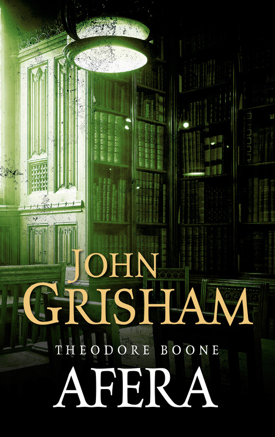 okładka Theodore Boone: Aferaebook   epub, mobi   John Grisham