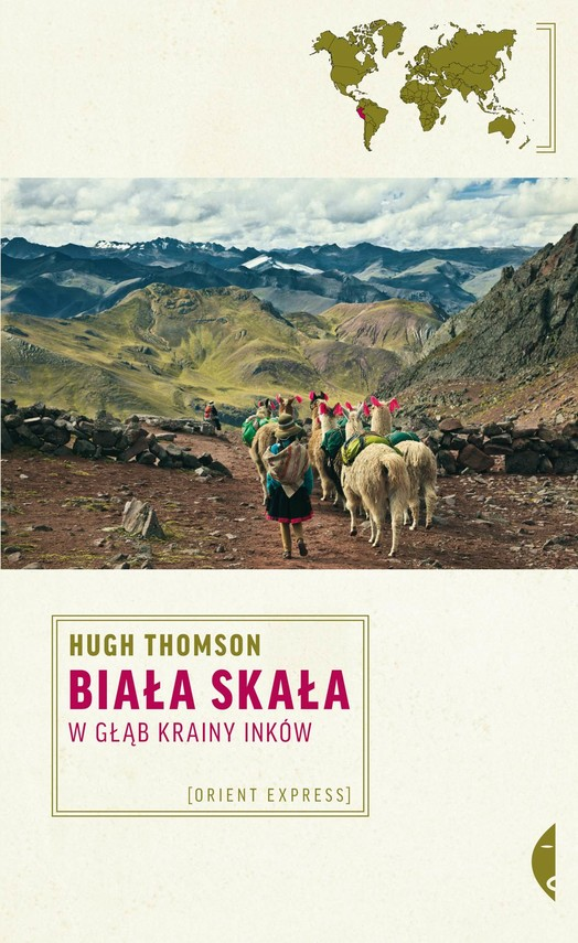 okładka Biała Skała. W głąb krainy Inków, Ebook   Hugh Thomson
