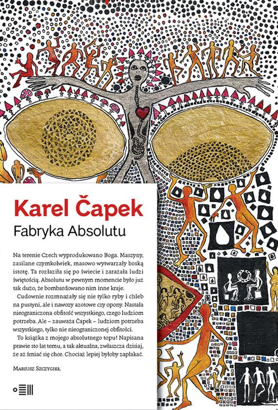 okładka Fabryka Absolutuebook | epub, mobi | Karel Čapek