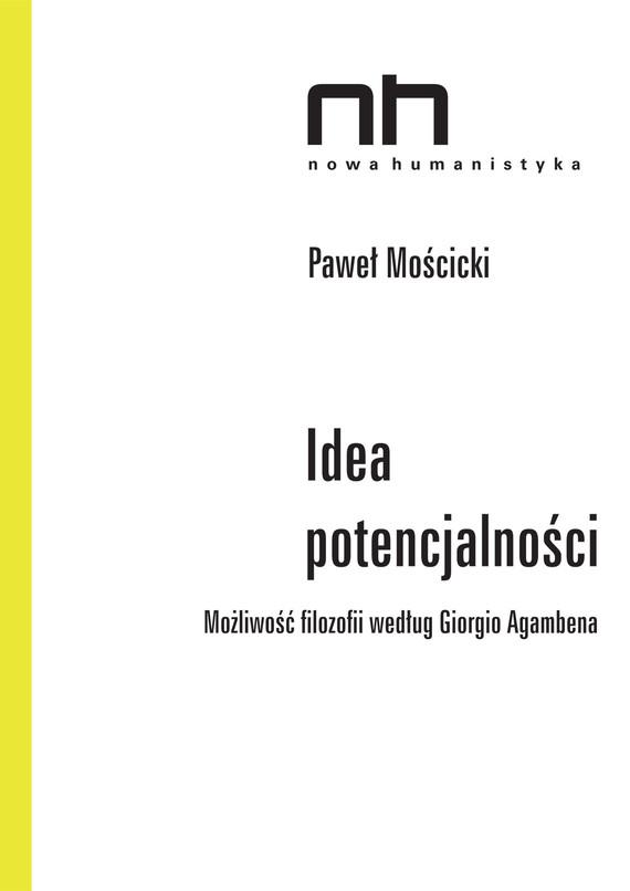 okładka Idea potencjalnościebook | epub, mobi | Paweł  Mościcki