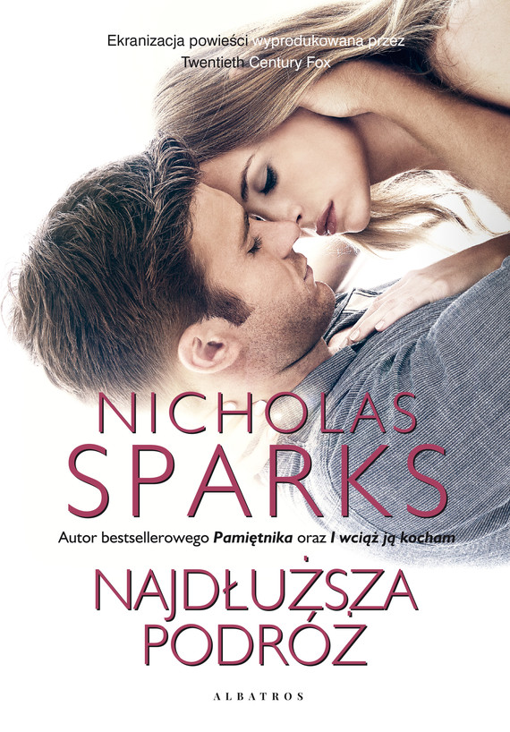 okładka NAJDŁUŻSZA PODRÓŻ, Ebook | Nicholas Sparks