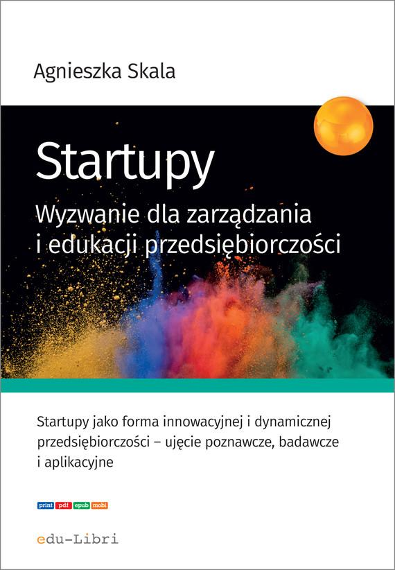 okładka Startupy, Ebook | Skala Agnieszka