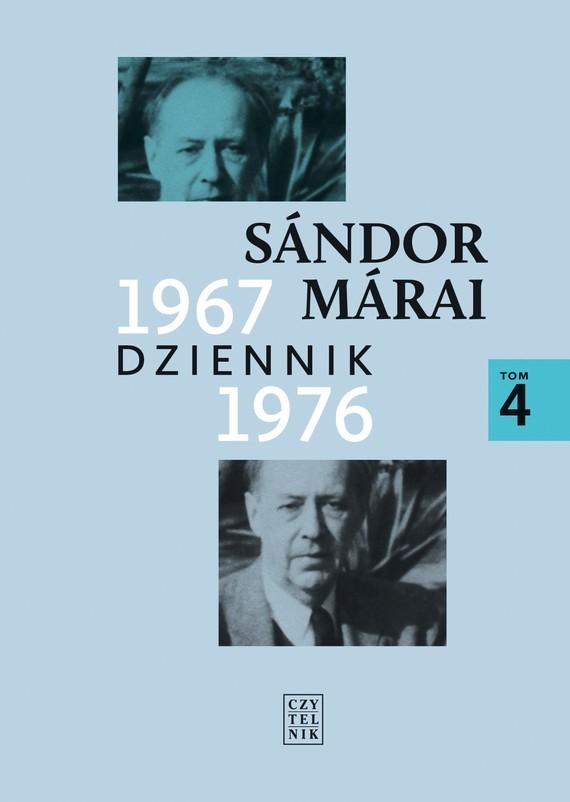 okładka Dziennik 1967-1976, Ebook | Sándor Márai