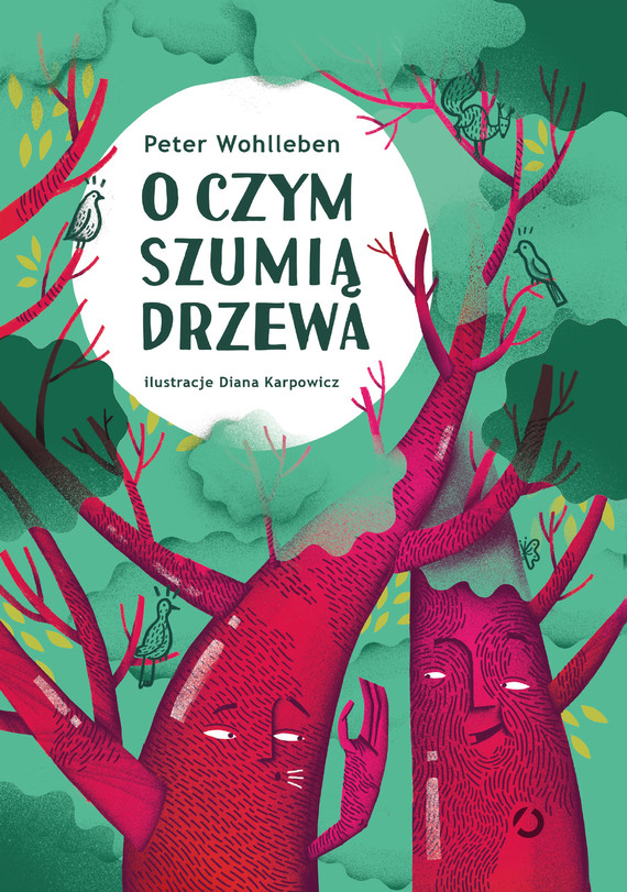 okładka O czym szumią drzewa, Ebook   Peter Wohlleben