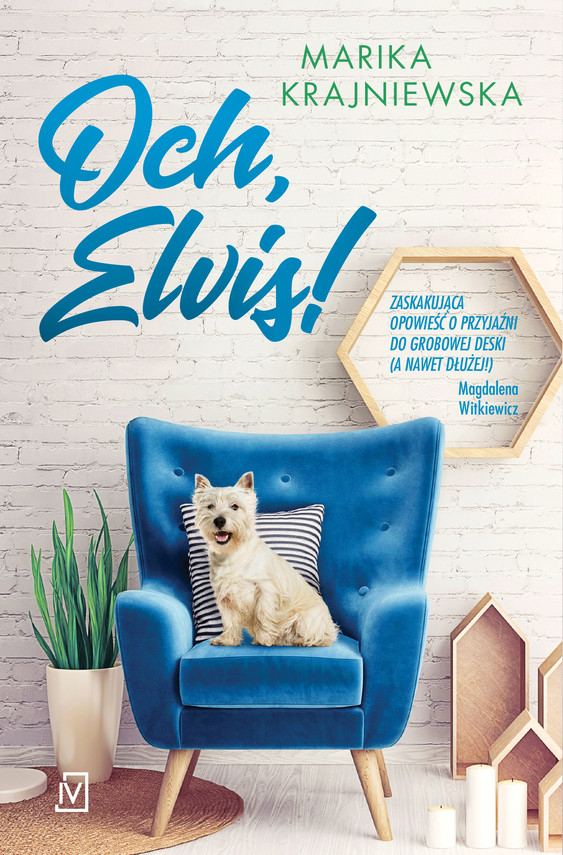 okładka Och, Elvis!ebook   epub, mobi   Marika Krajniewska